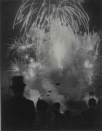 nuits de longchamp, 1937 by brassaï