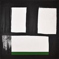 branco, preto e verde by amilcar de castro