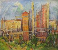 industrial landscape by coca metianu