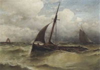 marinestück by eugene jacques hubert wolters