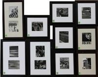 scrappy photos (set of 13) by edward weston