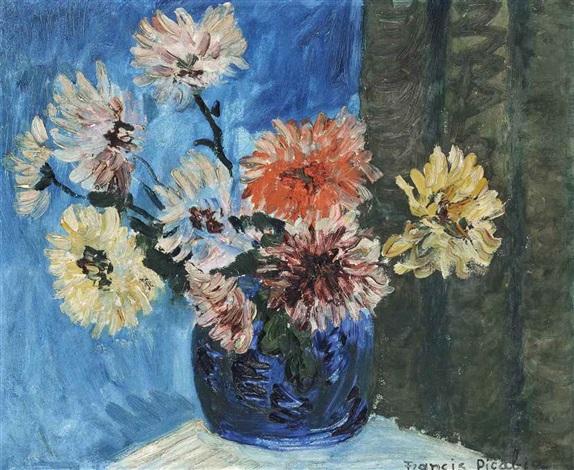 Bouquet de fleurs by francis picabia on artnet - Photos bouquets de fleurs ...
