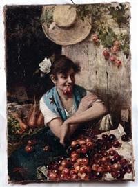 la fruttivendola by italian school-venetian (19)