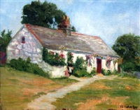 cottage, port erin, isle of mann by elizabeth campbell fisher-clay