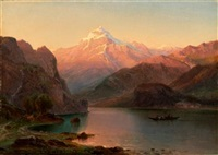 lake lucerne by frederic edwin church