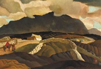 road to the black hill, donegal by harry epworth allen