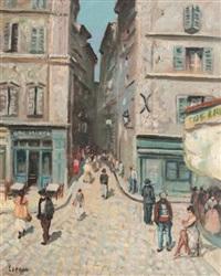 rue à marseille by marcel françois leprin