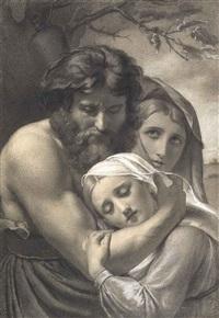 trois figures enlacées by françois joseph navez
