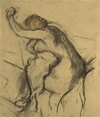 femme s'essuyant by edgar degas