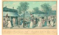 the palais royal garden walk - promenade du jardin du palais royal. by louis le coeur