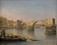 le pont saint-bénézet à avignon by isidore dagnan