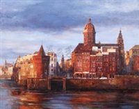 阿姆斯特丹的景色 (the scenery of amsterdam) by li yan