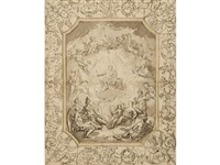 mythological study for a painted ceiling by sir james thornhill