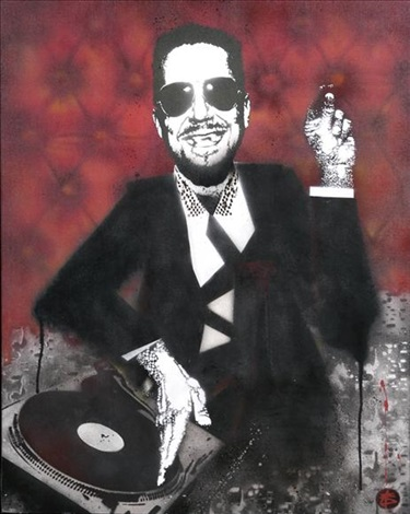 portrait of jerry dammers by nick walker