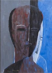 man's visage by jean crotti