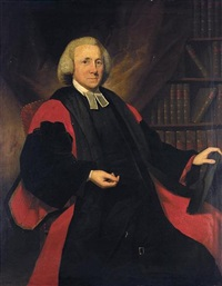portrait of an oxford doctor of divinity by ralph earl