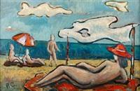 na plaży by roman selski