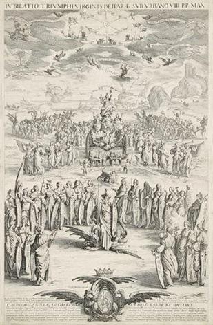 le triomphe de la vierge ou la petite thèse by jacques callot