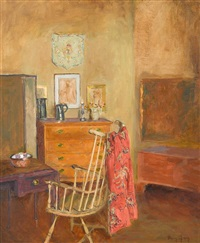interior with pennsylvania antiques by mary gray