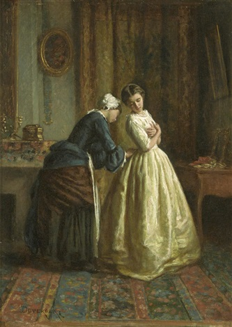 finishing touches by théophile emmanuel duverger