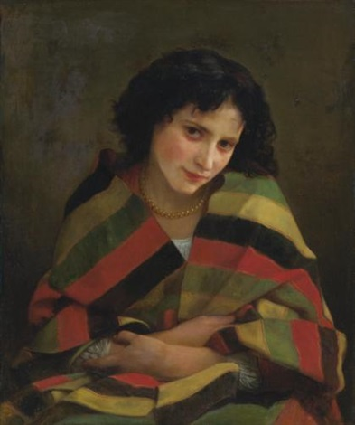 frileuse by william adolphe bouguereau