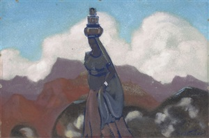 water carrier by svetoslav nikolaevich roerich