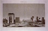 thebes (karnak), pl.49 by jean baptiste liénard