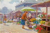 at the market by emil lindemann