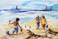the sandcastle by lorna miller