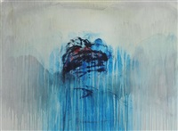 landscape (rainpainting) by gert van maanen