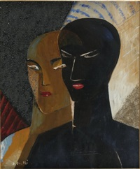 two heads by jean crotti