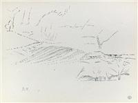 paysage pointilliste by dora maar