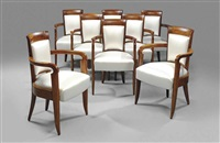 chairs (set of 8) by marc simon