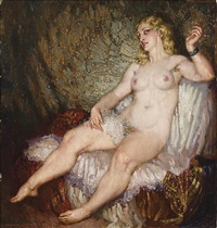 the green bracelet by norman alfred williams lindsay