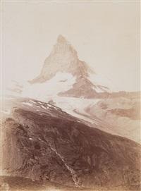 matterhorn, vom oberen riffelweg aus (matterhorn, seen from upper riffel trail) by vittorio sella