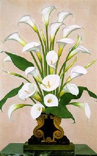 lilies by gluck (hannah gluckstein)