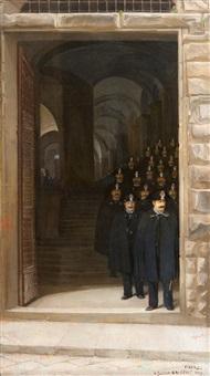 a florentine police choir by venny soldan-brofeldt