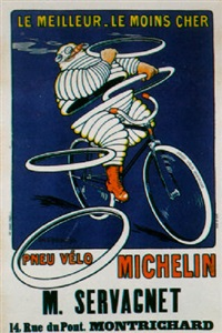 pneu velo michelin by h. l. roowy