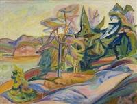 pines, holmsbu by aage storstein