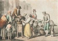marchand de châtaignes by saverio xavier della gatta
