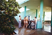 miami beach ii, florida (girls in bikinis on pay phones) by mitch epstein
