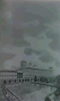 dos vistas de el escorial by venancio arribas