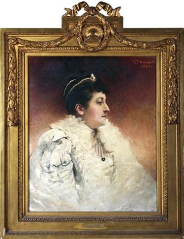 la princesse marie de ligne, duchesse de doudeauville by léon joseph florentin bonnat