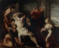 die auferweckung des lazarus by andrea celesti