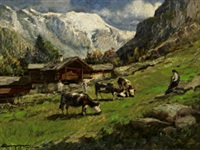 valle d'aosta (champoluc) by licinio campagnari