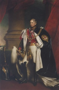 portrait of charles william stewart, 3rd marquis of londonderry by james godsell middleton