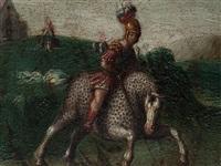 saint george by johann (hans) konig