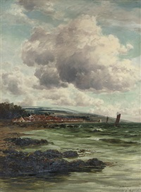 on the east coast at dysart by john hamilton glass