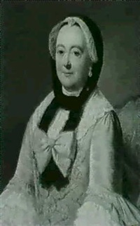 portrait of a lady by guillaume jean joseph de spinny