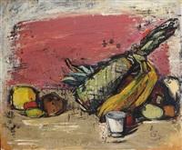 stillleben mit ananas by ernst stadelmann